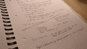 Image of notes