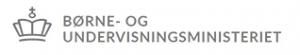 Boerne- og Undervisningsministeriet logo